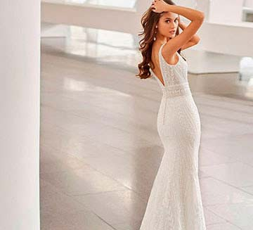 Vestidos de novia de sirena Rosa Clára 2022