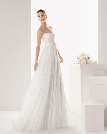 45f458eac Rosa Clará vestidos 2013 - Rosa Clará Vestido de novia