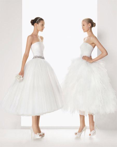 vestidos de novia cortos 2013 1 de 88 fotos
