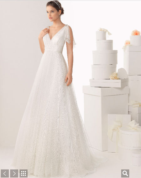 rosa clará vestidos modelo cadete vestido carina 2014 - vestidos de