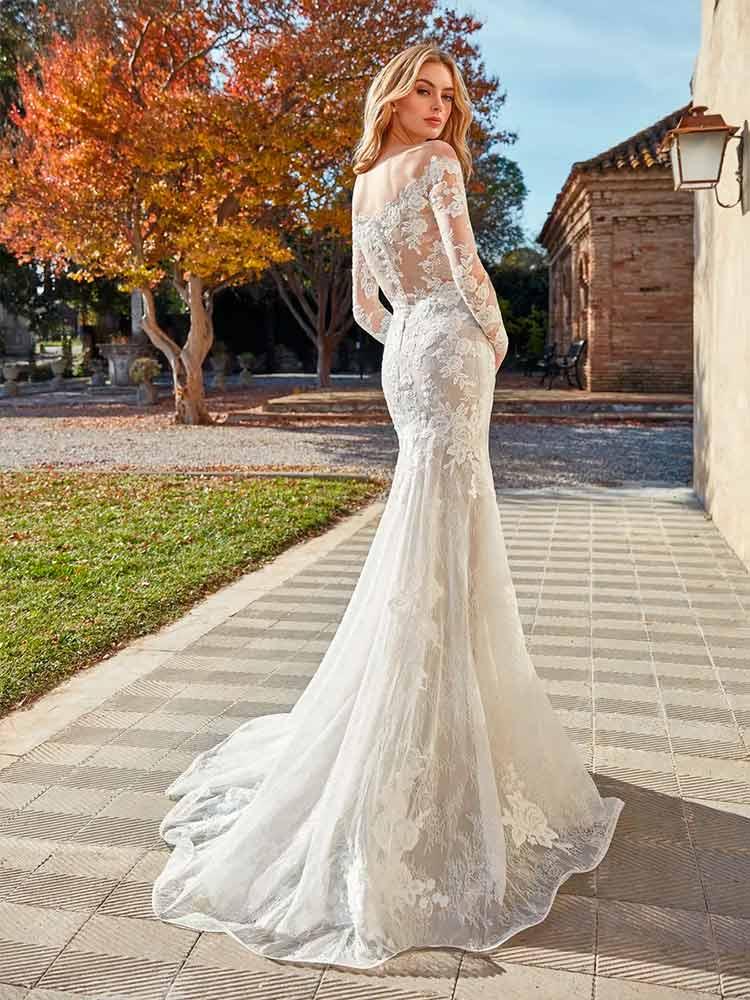 San Patrick vestidos 2021 vestido de novia efecto tattoo lace