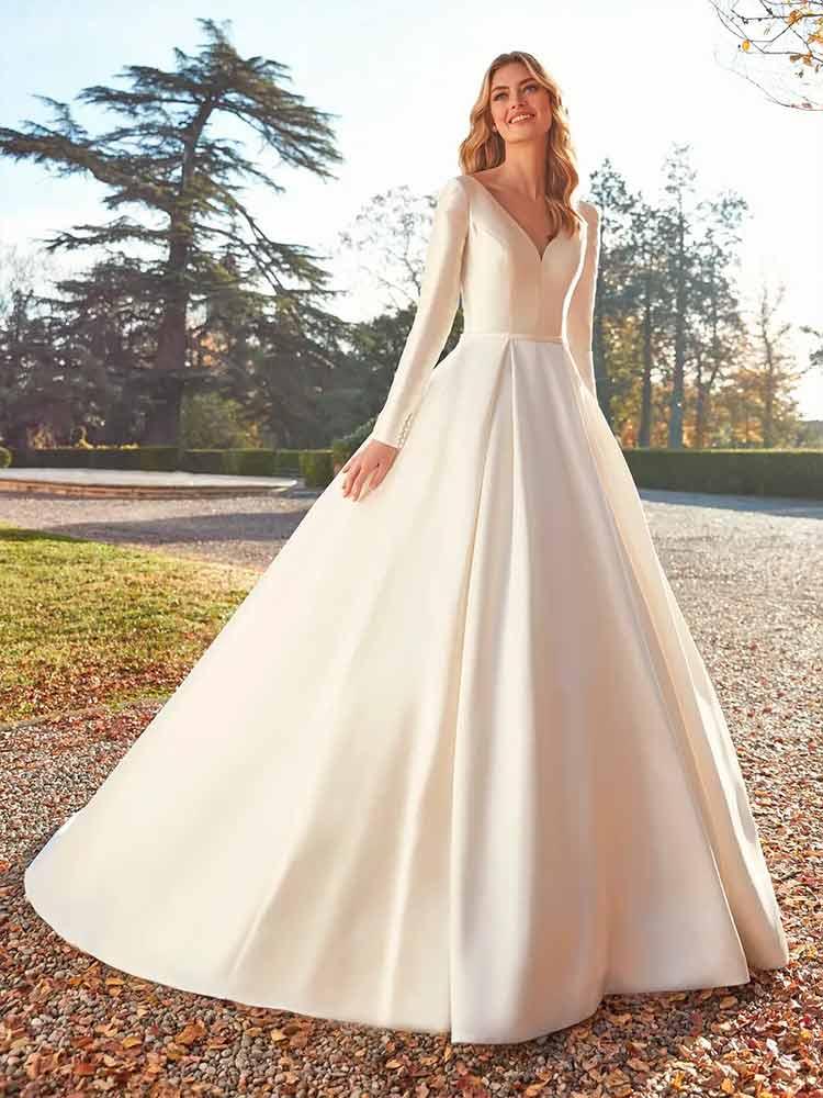 San patrick novias 2021 - Vestido Morganite