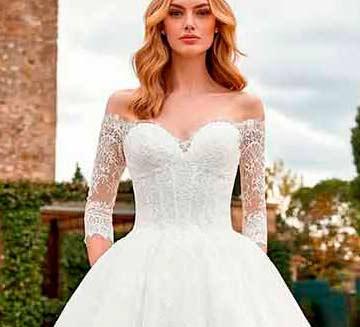 Vestidos de novia escote corazón San Patrick 2021