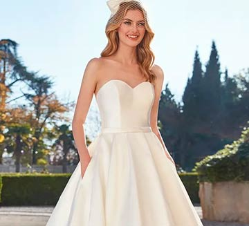 Vestidos de novia de princesa San Patrick