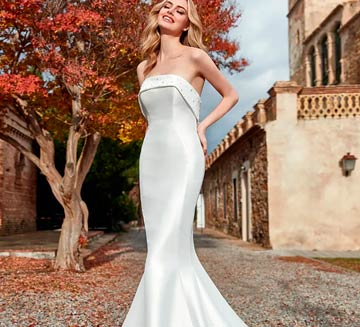 Vestidos de novia de sirena San Patrick
