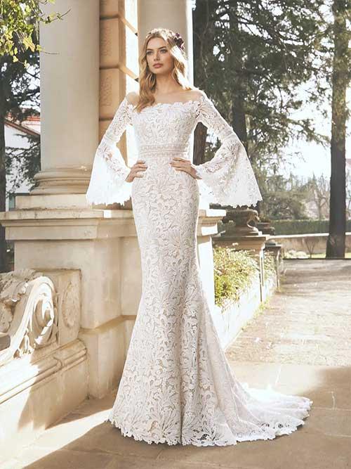 San patrick novias 2022 vestido Norma