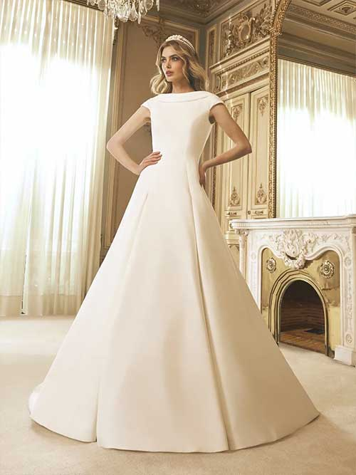 San patrick novias 2022 vestido Cleam
