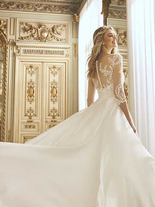 San patrick novias 2022 vestido Baiyley