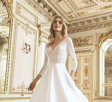 Vestidos de novia escote en V San Patrick 2021