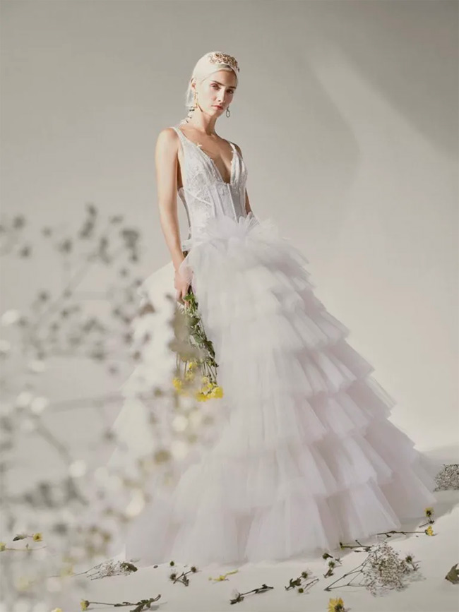 Yolan Cris novias 2021 - Vestido Belle
