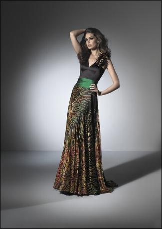 Oro Novias vestidos de fiesta