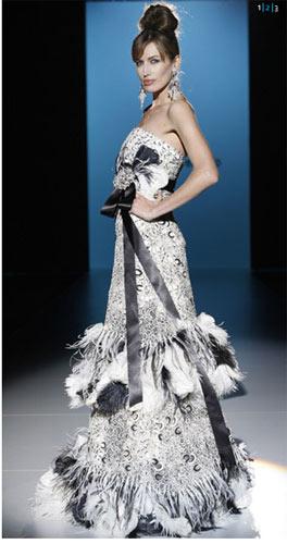 Patricia Avendaño vestidos de fiesta