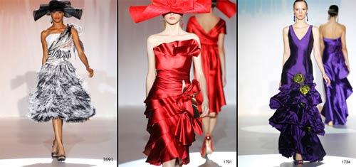 vestidos de fiesta de Patricia Avendaño