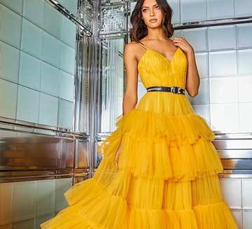 Pronovias vestidos de fiesta 2020