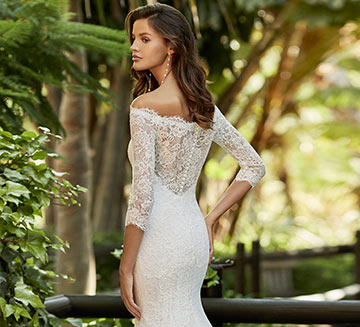 Vestidos de novia de encajes Adriana Alier 2021