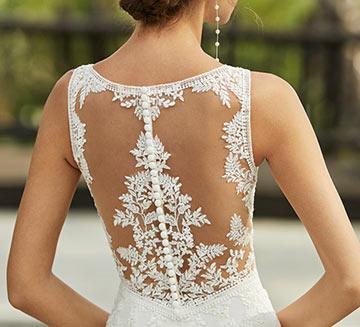 Vestidos de novia tatto lace Adriana Alier 2021