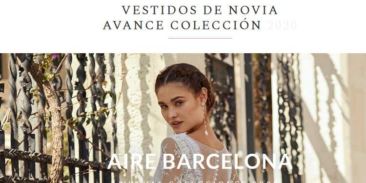 aire barcelona novias