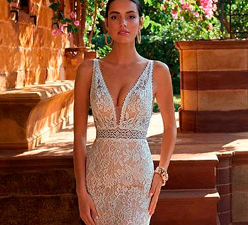 Vestidos de novia de encajes Demetrios 2021