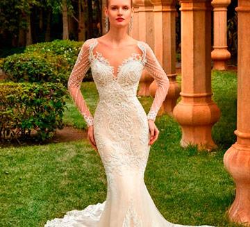 Vestidos de novia de sirena Demetrios