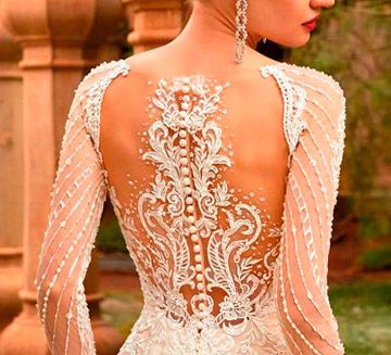 Vestidos de novia de efecto tatuaje Demetrios