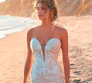 Vestidos de novia escote corazón Maggie Sottero 2021
