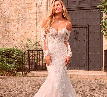 Vestidos de novia de sirena Maggie Sottero