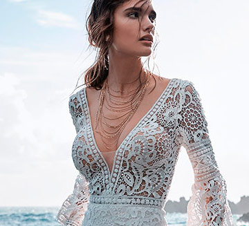 Vestidos de novia escote en v Maggie Sottero 2021
