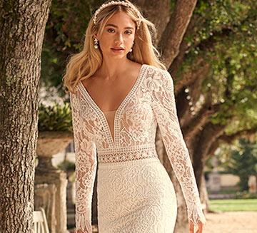 Vestidos de novia de encajes Maggie Sottero