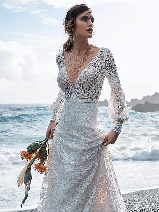 Vestido de Novia con escote en v de Maggie Sottero 2021