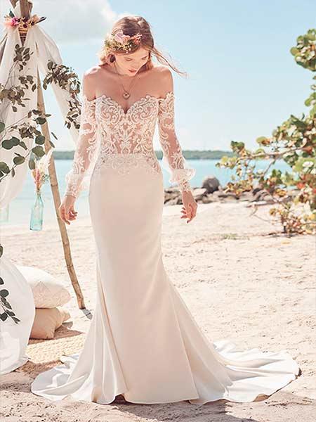 Maggie Sottero Vestido de novia Sexy 2022 Beverly