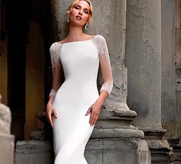 Vestidos de novia sencillos Nicole Milano