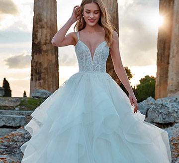 Vestidos de novia de princesa Nicole Milano
