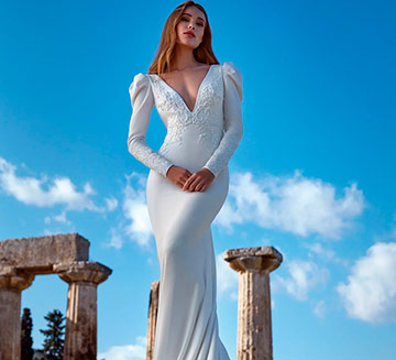 Vestidos de novia de sirena Nicole Milano 2022