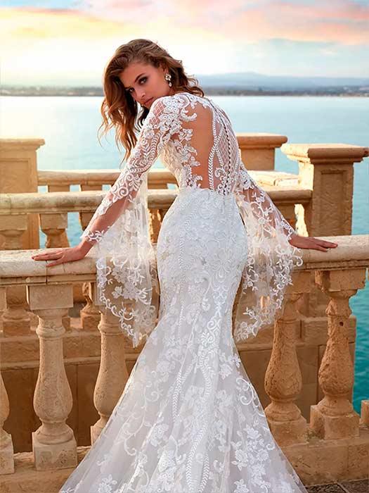 Vestido de Novia Medievales de Nicole Milano 2021 - Modelo NC12116