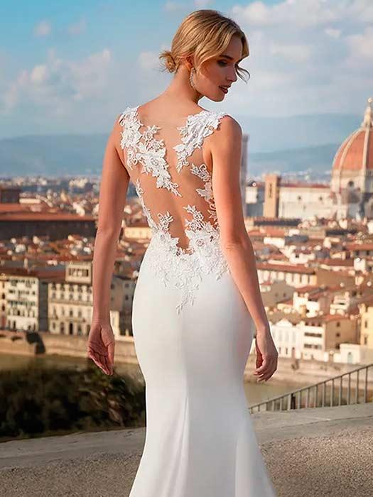 Nicole Milano vestidos sencillos