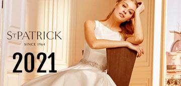 san patrick vestidos de novia 2021