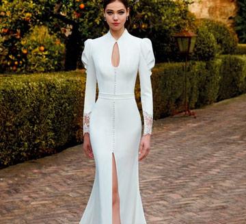 Vestidos de novia corte sirena Valerio Luna 2021