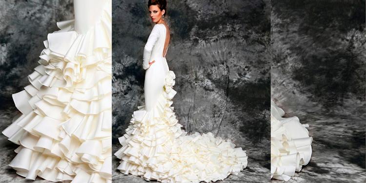 vestidos de novias flamencos