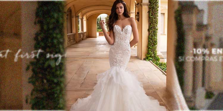 vestidos de novia de sirena