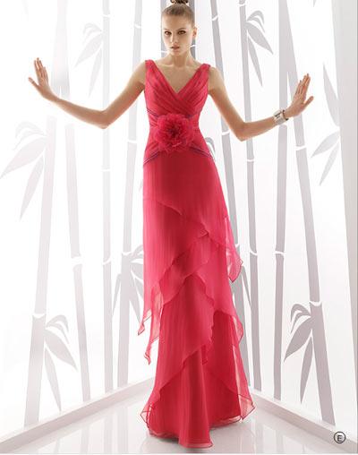 Vestidos de novia rosa clara 2010