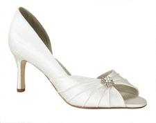 Liz Rene zapatos de novia