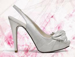 Zapatos de novia de Pronovias