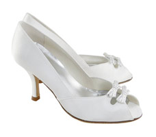 Zapatos de novia de Pura Lopez