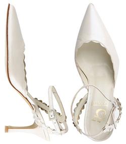 Zapatos de novia de Sara Navarro